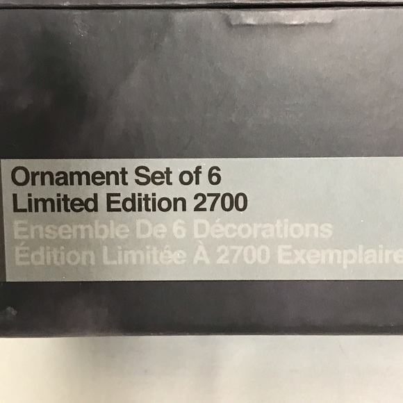 Star Wars 40th Anniversary Ornament Set LImited Edition NIB